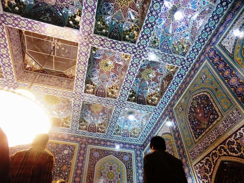 160 Techo Interior de la mezquita de Iman Reza en Masshad. Foto de Majid Kharinkani (18)