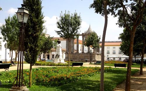 praça monumment evora portugal europa europe square frenteafrente