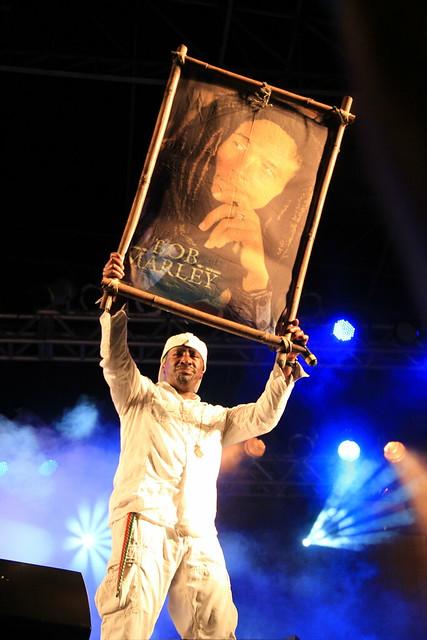 Pato Banton no Festival Regado a Reggae em Itanhaém