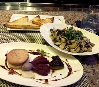 Foie Gras Duo & Mixed Mushrooms @ Fleur