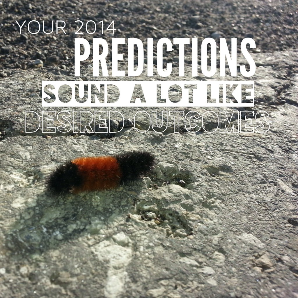 Your 2014 Predictions Sound A Lot Like Desired Outcomes