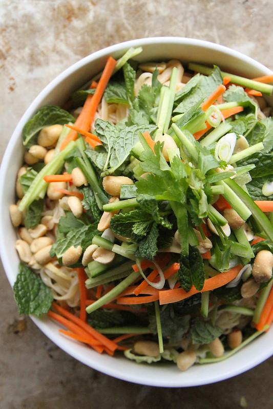 Vietnamese Noodle Bowl Salad