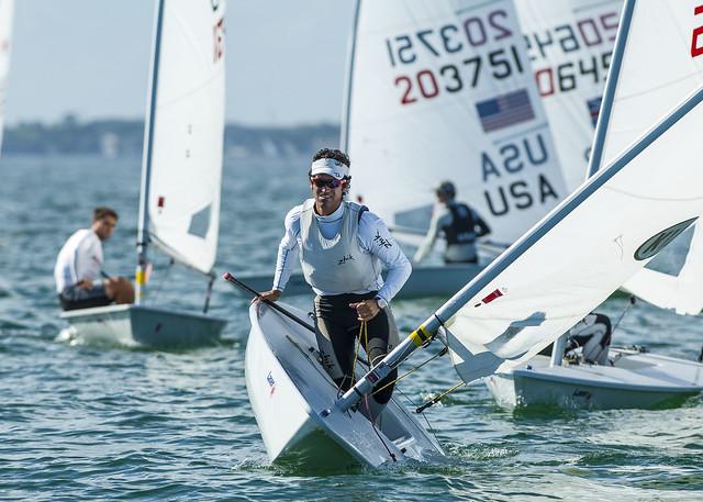Matias Del Solar (CHI) - Sailing World Cup 2014, Miami FL