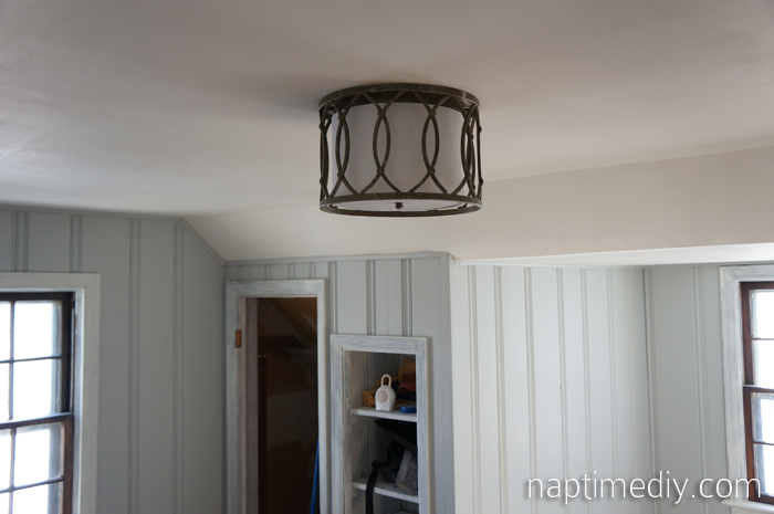 nursery light fixture 1