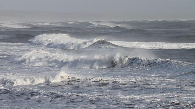 Stormy North Sea.