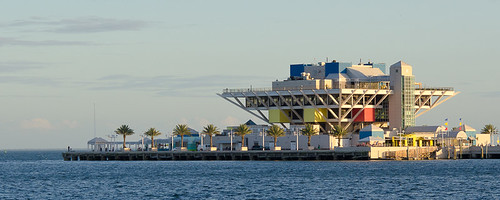 St. Petersburg Pier from Vinoy Park