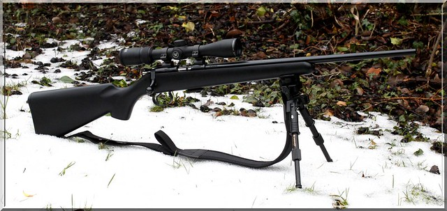 CZ 455 Synthetic .22LR w. Vortex Optics Diamondback 2-7x35 Rimfire