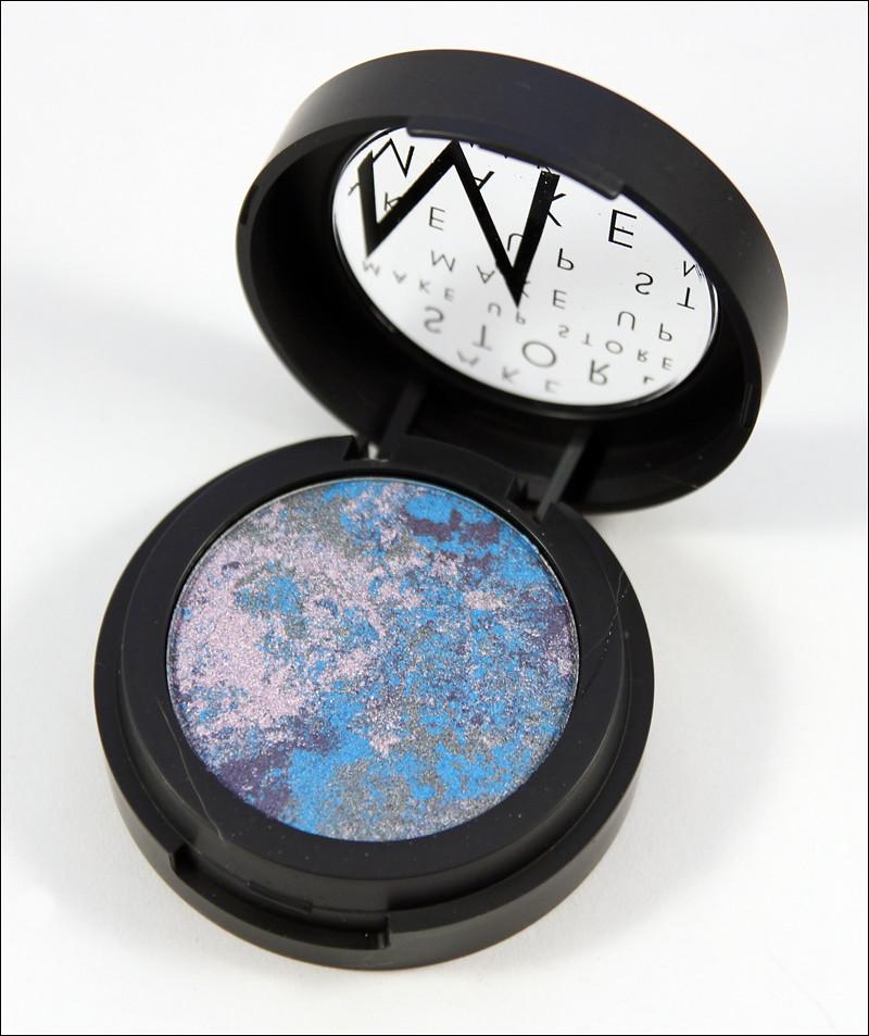 MUS blue venato marble eye shadow