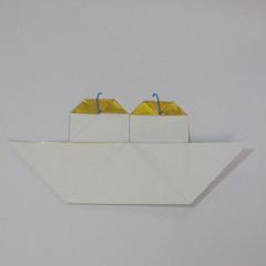 วิธีพับกระดาษเป็นรูปหัวใจติดปีก (Heart Wing Origami) 021