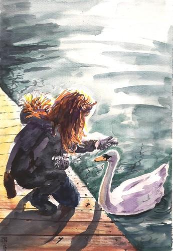 14-02-11 La chica y el cisne by jeguibo