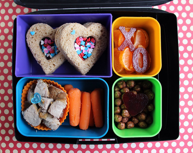 Big Kid Valentine's Bento #866