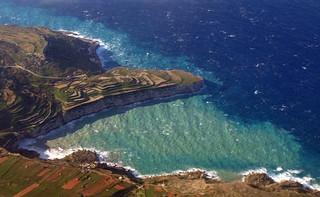 Ras ir-Raħeb, aerial view