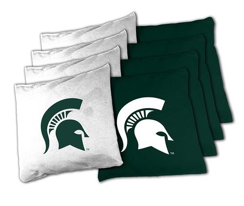 Michigan State Spartans Cornhole Bags