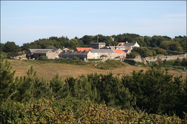 Herm village