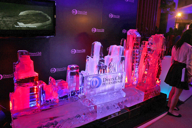 Nice ice sculpture