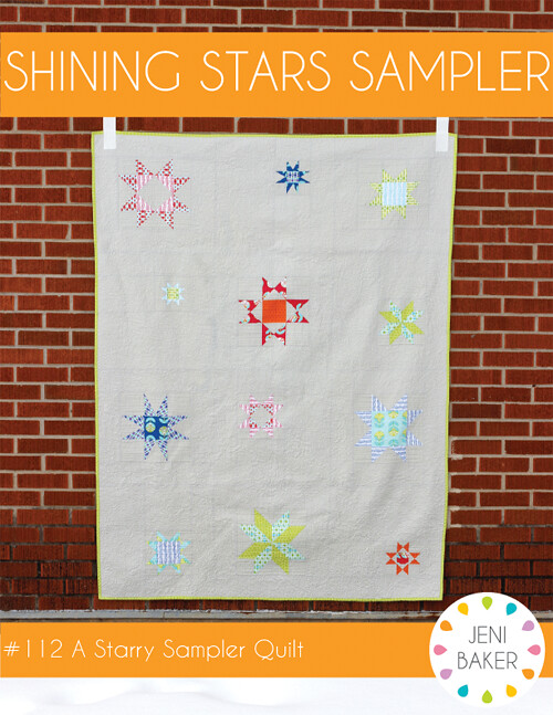 Shining Stars Sampler Pattern by Jeni Baker
