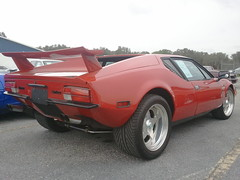 maserati merak(0.0), race car(1.0), automobile(1.0), vehicle(1.0), de tomaso pantera(1.0), land vehicle(1.0), coupã©(1.0), supercar(1.0), sports car(1.0),