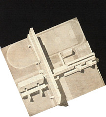 Mikhail Barshch, V Vladimirov: Project for a communal house, 1929, Axonometric view