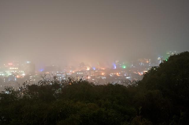 別府湯けむり展望台からの夜景