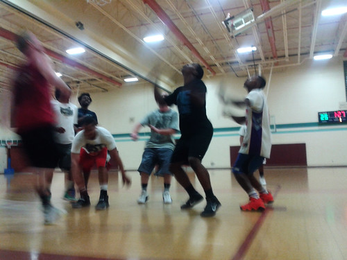 Basketball at the Rec (Jan 16 2014)