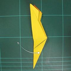 วิธีพับกระดาษเป็นรูปนกยูง (Origami Peacock - ピーコックの折り紙) 023