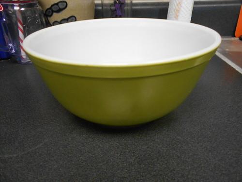 a large bowl