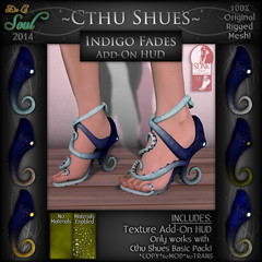 2014 CthuShues - ADD-ON Indigo Fades