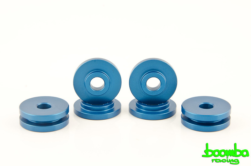 Boomba Racing: Aluminum Shifter Base Bushings | Ford Focus