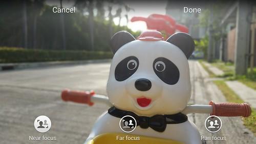 Selective Focus ของ Samsung Galaxy S5 เลือกโฟกัสได้ 3 แบบ