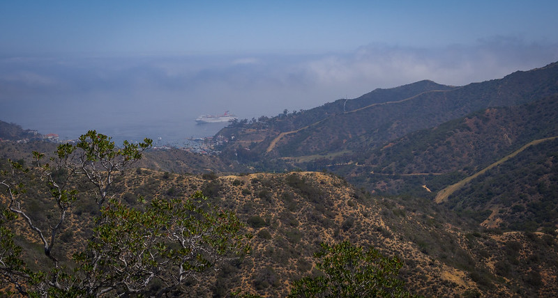 Avalon from the top of Garden to Sky Hiking Trail