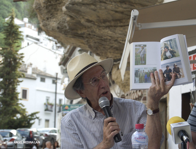 Ezequiel Martínez, durante la presentación del libro de