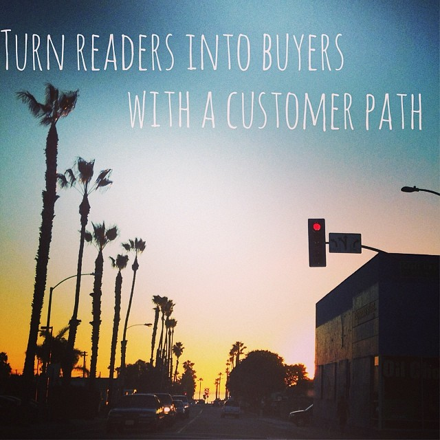 This week's podcast is live! Talking about my favorite question to your marketing floundering: Where does it fit on your Customer Path?