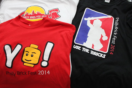 Philly Brick Fest Swag - T-Shirts