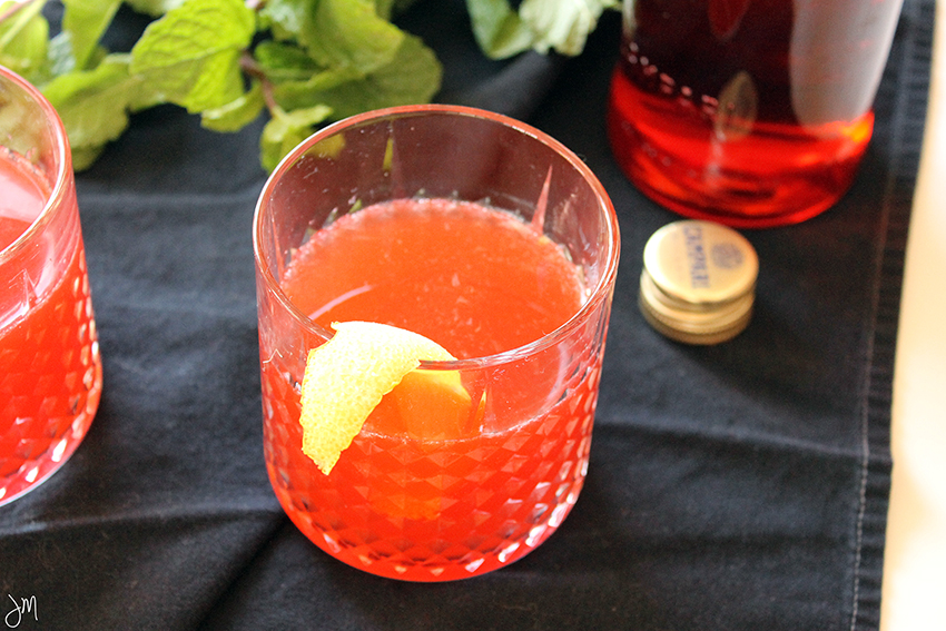 Julip Made Grapefruit Mint Negroni5