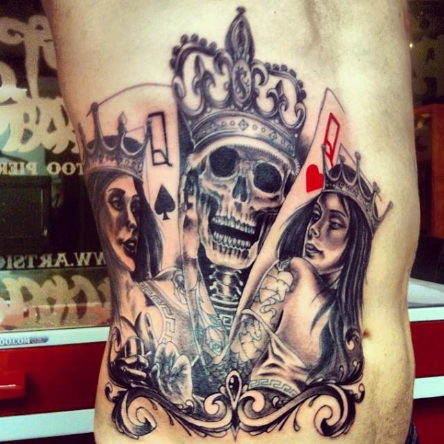King Skull Queen Girl Art Sion Ribs Artsion Andre Flickr