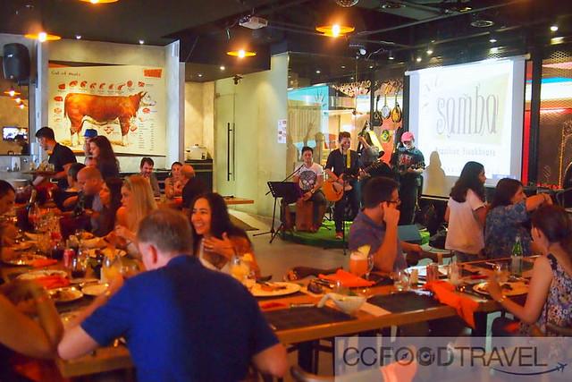 Brazilian churrascaria samba brazilian steak house for Brazilian house music