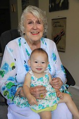 Lulu with grandma