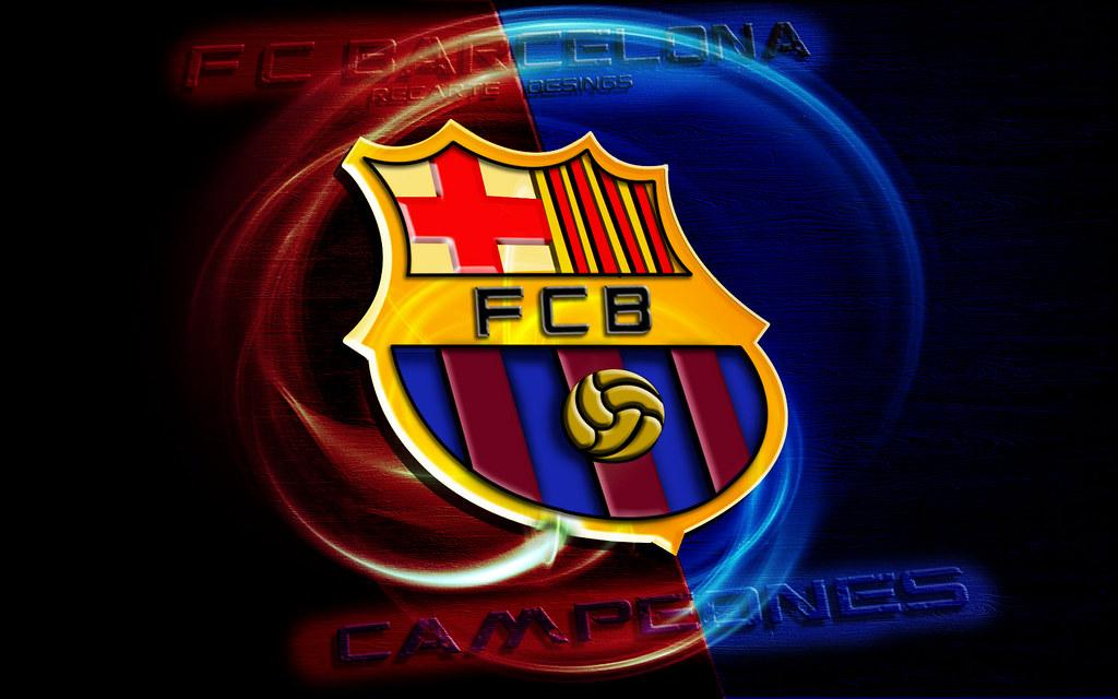 Logo Barcelona 4k Wallpaper Logo Barcelona 4k Wallpaper Lo Flickr