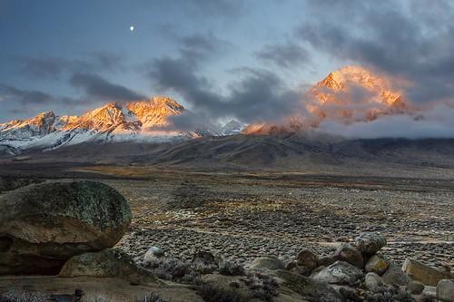 california ca light mountains sunrise landscape dawn landscapes sierranevada owensvalley easternsierra