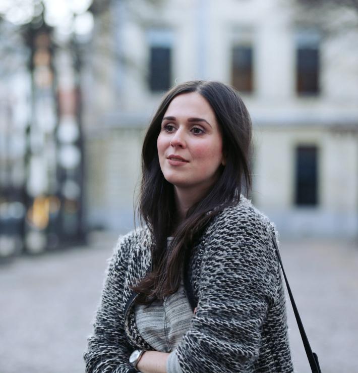 outfit: zara knit