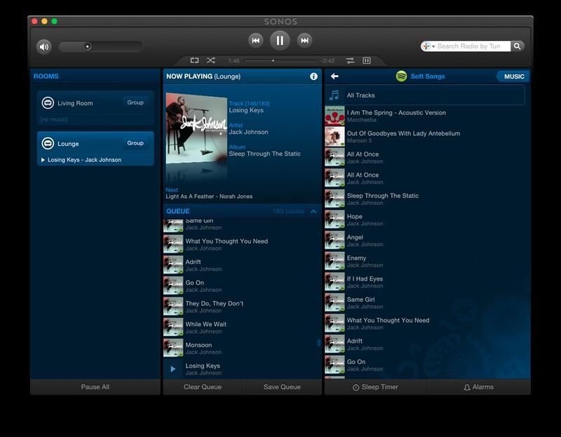 Sonos companion Mac app