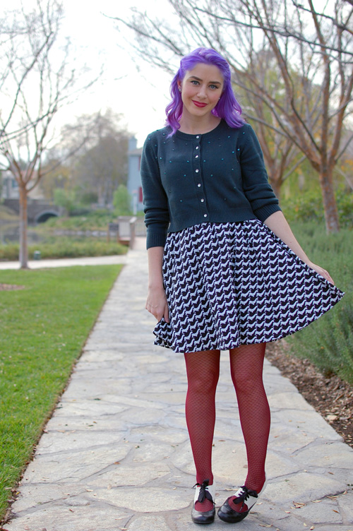 Retrolicious Modcloth Houndsleuth dress
