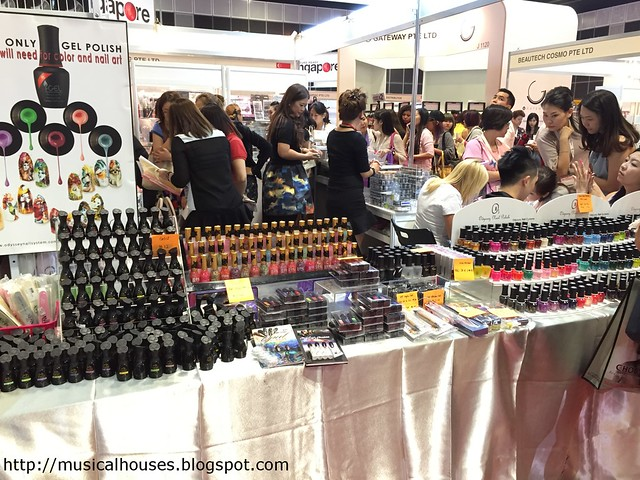 Beauty Asia 2015 Escalonce Booth