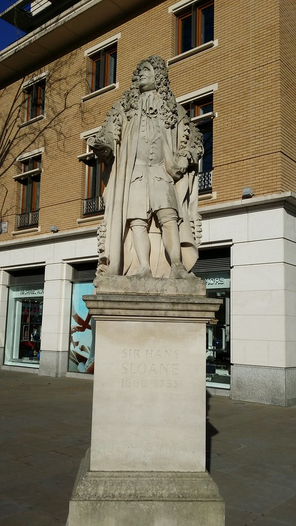 Sir Hans Sloane, inventor of milk drinking chocolate #sh