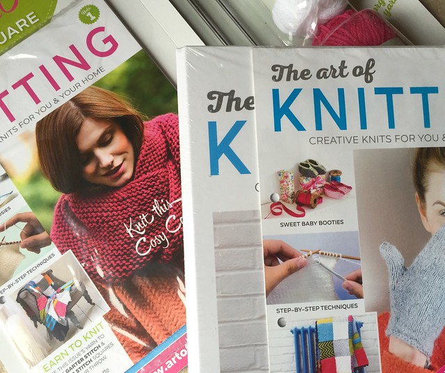 The Art of Knitting, weekly part-work published by Hachette.
