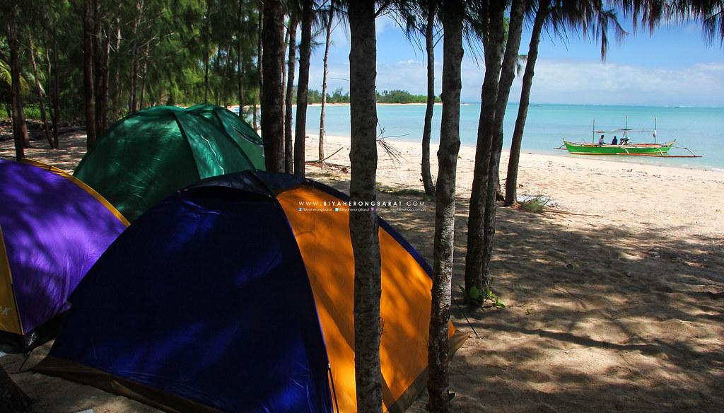 beach camping mercedes camarines norte apuao grande island
