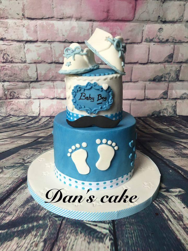 Jennyludo And-Co's Baby Shower Cake