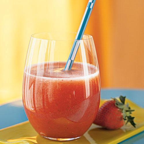 4. Strawberry Agua Fresca