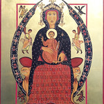 Margaret Broadbent - The Virgin and Child Enthroned from Margarito d'Arezzo