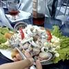 comida_suramerica #Cebiche mixto + #Wine Ros...